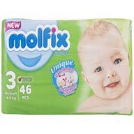 پوشک متوسط مولفیکس ۴۶ عددی