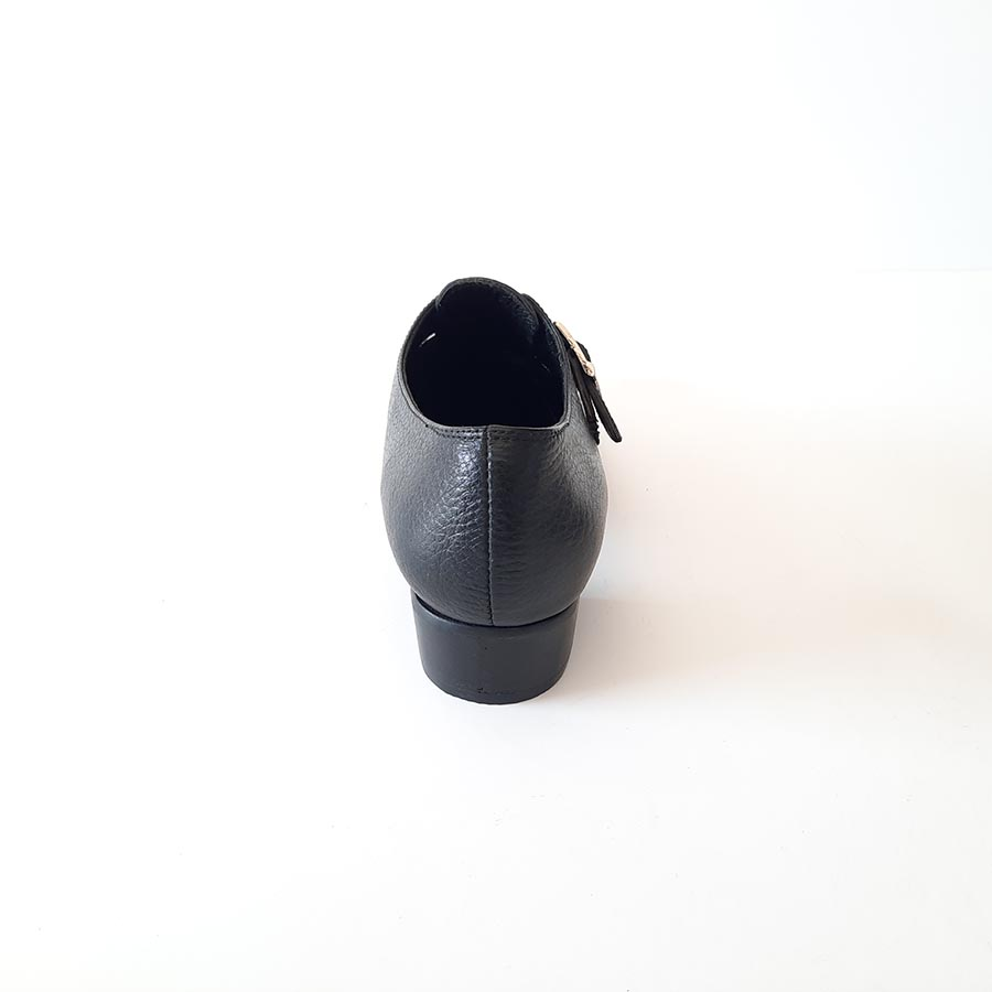 کفش زنانه مجلسی چرم طبیعی دست دوز تبریز کد 011