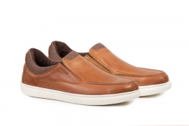 کفش چرم مردانه راحتی  نیم ونس بهاره مادو