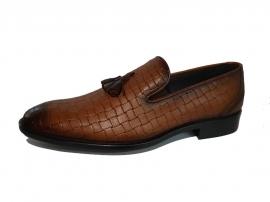 کفش چرم طبیعی مردانه مجلسی و کالج Fendi