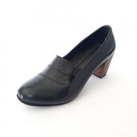 کفش زنانه مجلسی  چرم طبیعی  دست دوز  تبریز  کد 107