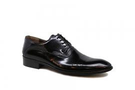 کفش چرم طبیعی  مردانه دامادی مدل Maldini