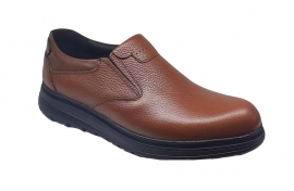 کفش  طبی مردانه تمام  چرم  کد 050
