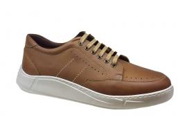 کفش اسپرت مردانه چرم طبیعی  کد 060