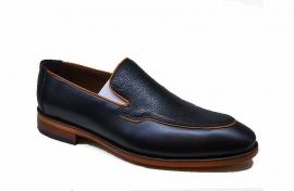 کفش چرم  طبیعی مجلسی مردانه دستدوز  تبریز کد 062