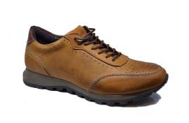کفش اسپرت مردانه چرم طبیعی  کد 075