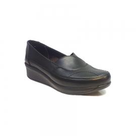 کفش طبی راحتی زنانه چرم طبیعی دست دوز تبریز کد 346