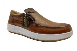 کفش اسپرت طبی راحتی مردانه چرم طبیعی تبریز کد 393