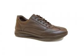 کفش کتونی مردانه چرم طبیعی  تبریز کد444