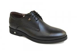 کفش مجلسی مردانه تمام چرم طبیعی گاوی تبریز کد446
