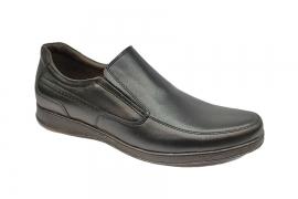 کفش مجلسی مردانه بزرگ پا چرم طبیعی تبریز کد483
