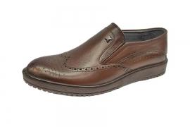کفش مجلسی طبی راحتی مردانه چرم طبیعی تبریز کد496