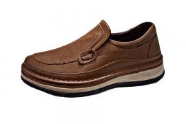 کفش طبی راحتی مردانه چرم طبیعی تبریز کد510