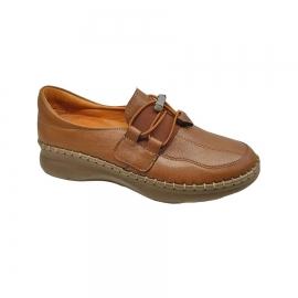 کفش طبی زنانه چرم طبیعی دست دوز تبریز کد522