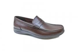 کفش کالج مردانه چرم طبیعی تبریز کد529