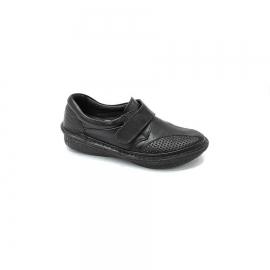 کفش طبی زنانه چرم طبیعی دست دوز تبریز کد579