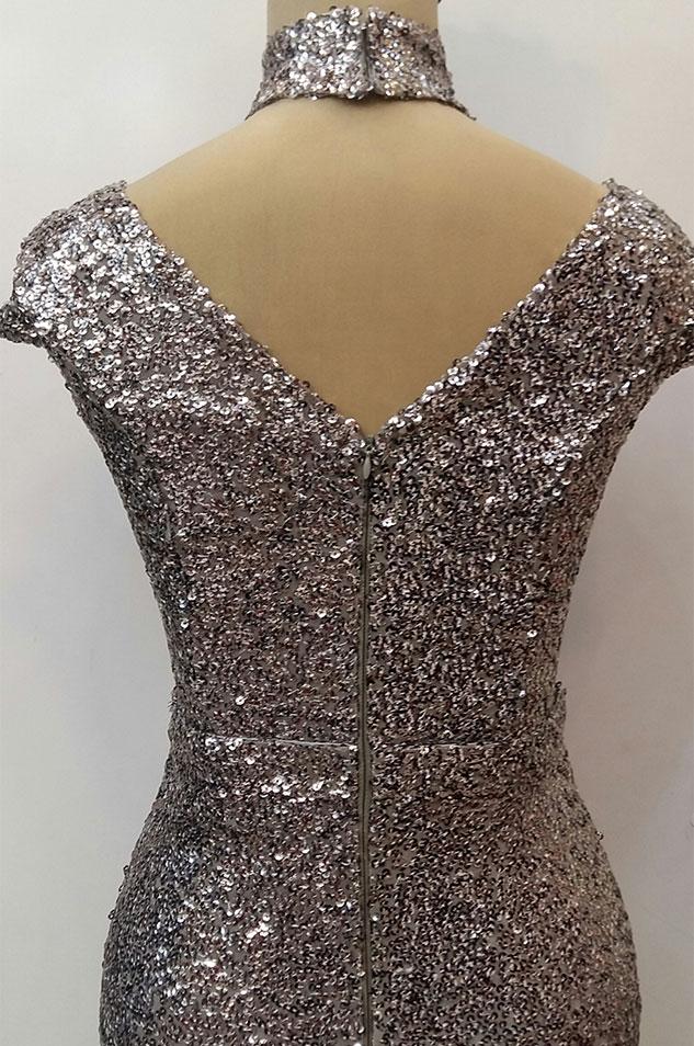 لباس مجلسی زنانه پولکی