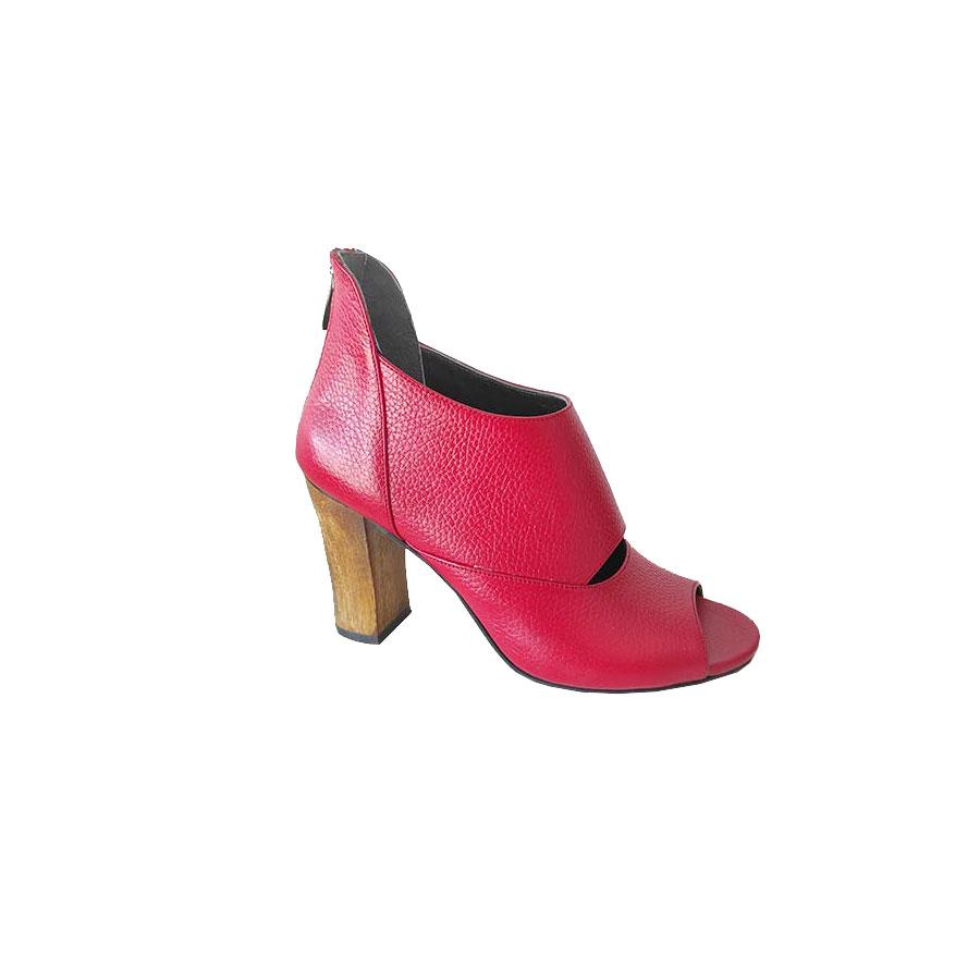 کفش  مجلسی زنانه چرم طبیعی دست دوز تبریز کد 645