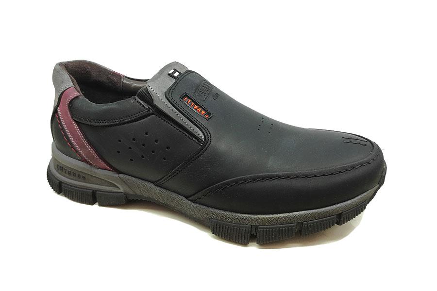 کفش کتونی مردانه چرم طبیعی تبریز کد471