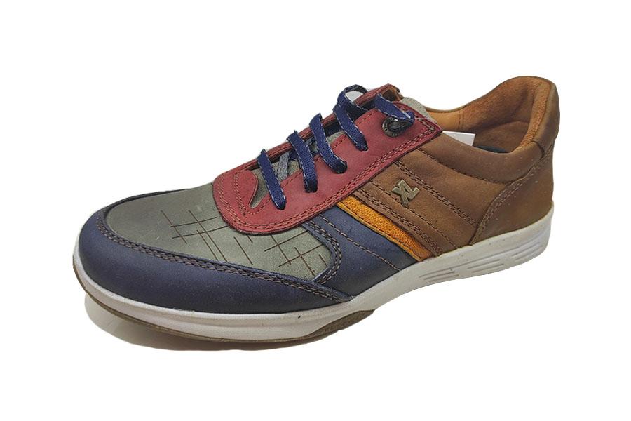 کفش کتونی مردانه چرم طبیعی  تبریز کد472