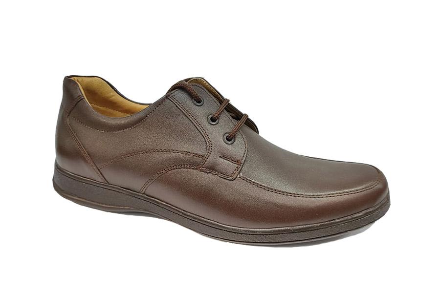 کفش مجلسی مردانه بزرگ پا چرم طبیعی تبریز کد481