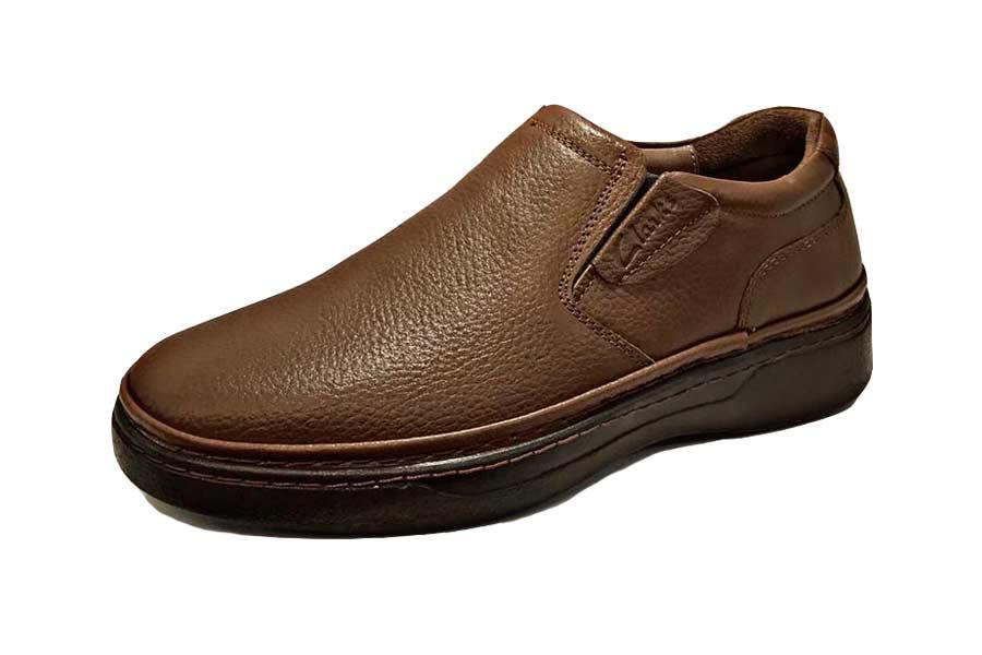 کفش طبی راحتی مردانه چرم طبیعی تبریز کد511