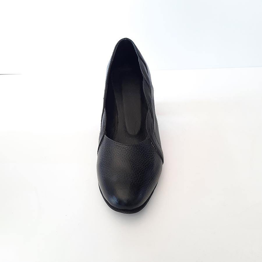کفش زنانه چرم طبیعی دست دوزتبریز  کد 112