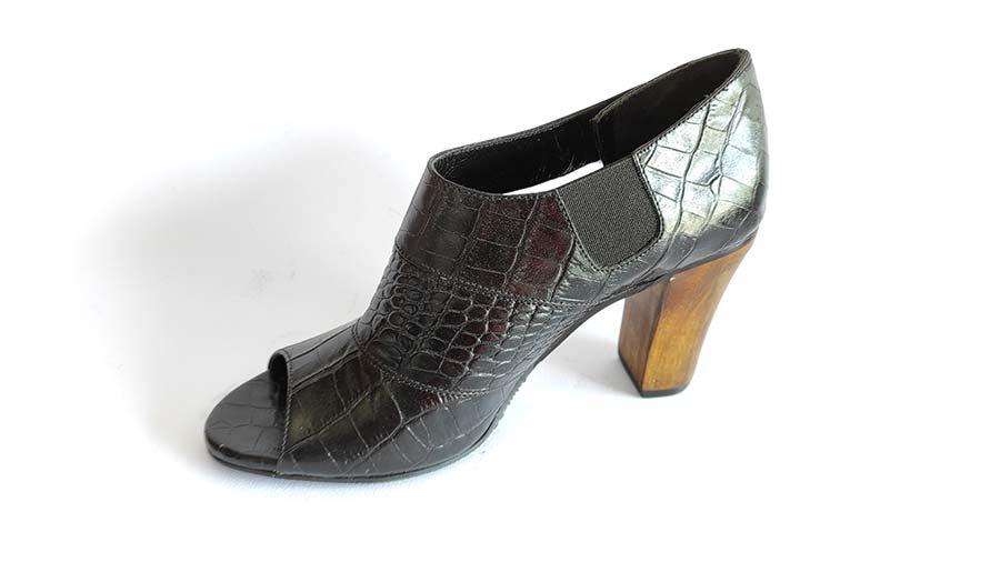 کفش زنانه تابستانی چرم طبیعی دست دوز تبریز کد 633