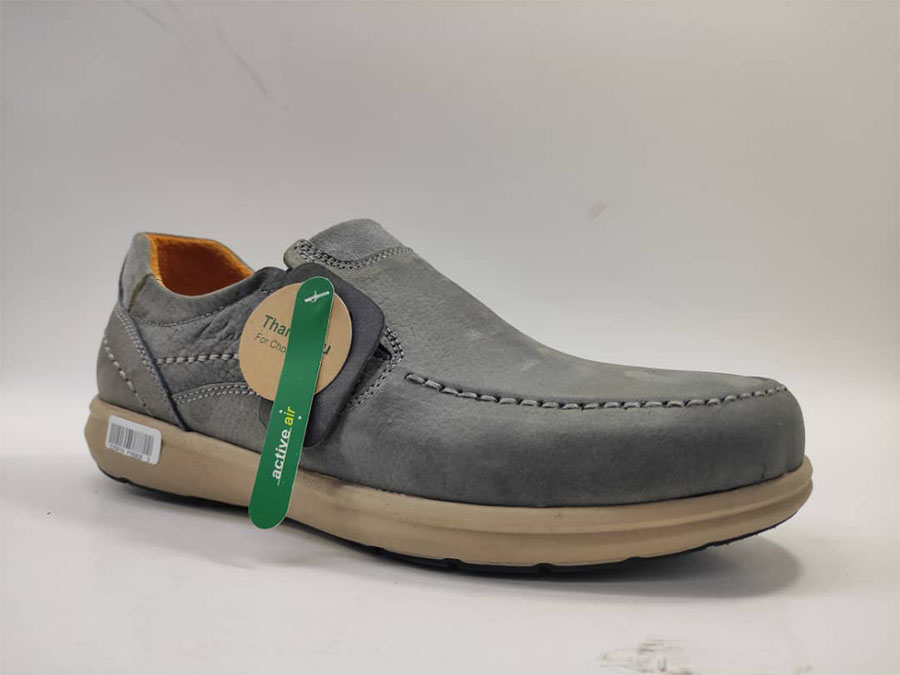 کفش مجلسی طبی راحتی مردانه چرم طبیعی تبریز کد504