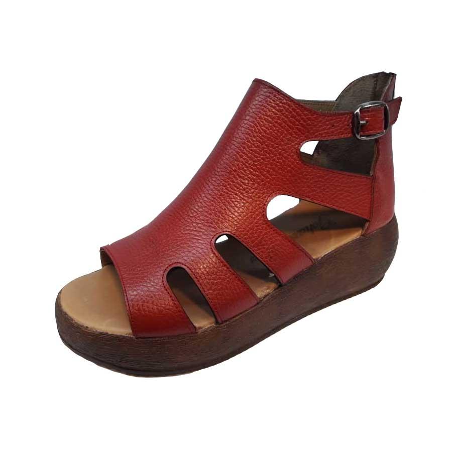 کفش تابستانی زنانه چرم طبیعی  تبریز کد 516