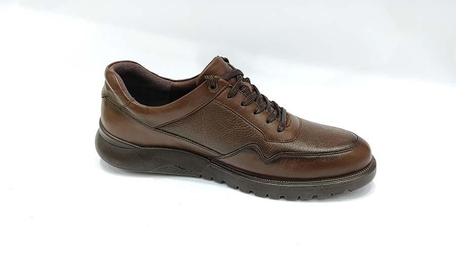 کفش  طبی مردانه چرم طبیعی تبریز کد 572