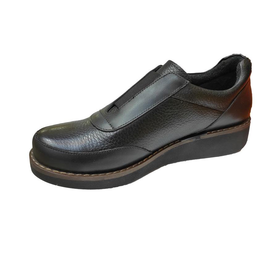 کفش طبی زنانه چرم طبیعی دست دوز تبریز کد 426