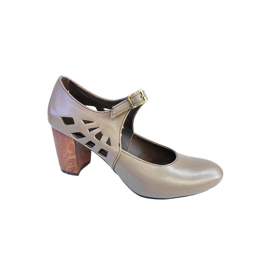 کفش تابستانی زنانه چرم طبیعی  تبریز کد728