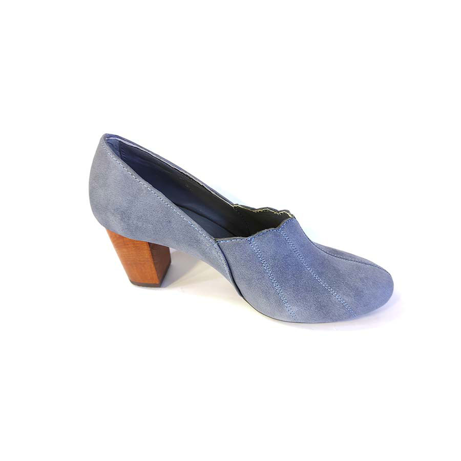 کفش زنانه  چرم طبیعی دست دوز تبریز کد 733