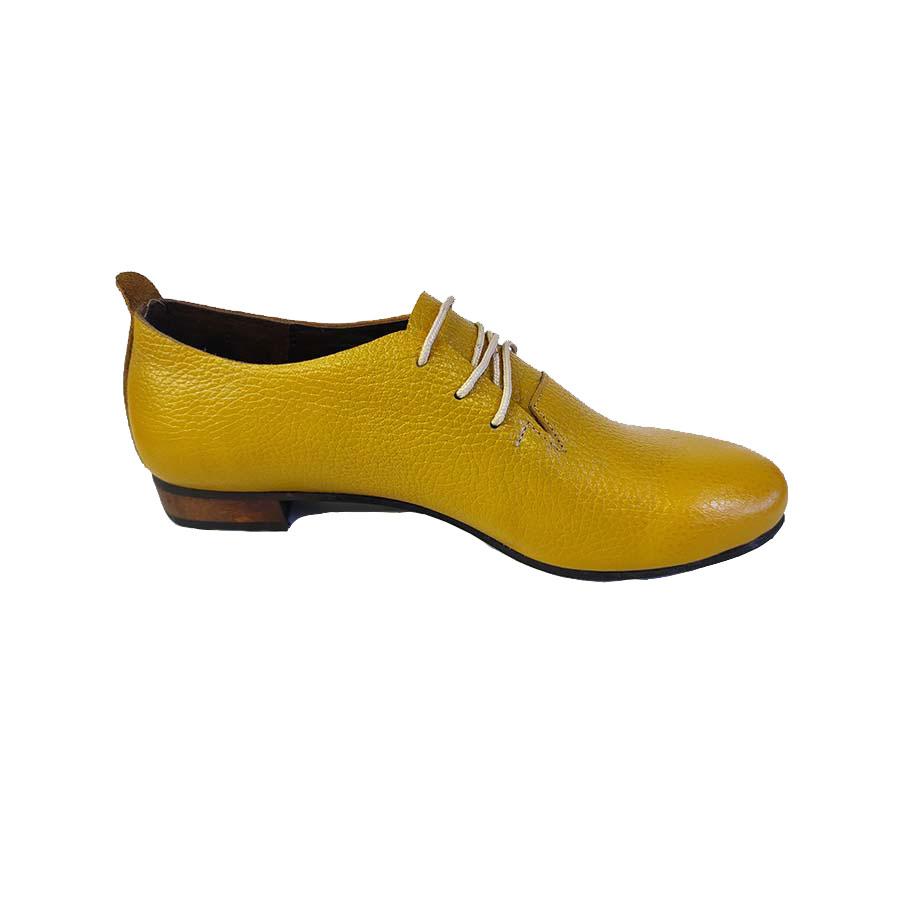 کفش  مجلسی زنانه چرم طبیعی دست دوز تبریز کد 734