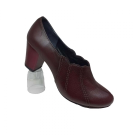 کفش زنانه چرم طبیعی دست دوز تبریز کد 088