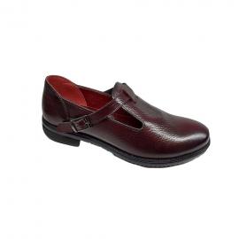 کفش زنانه چرم طبیعی دست دوز تبریز کد 093