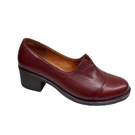 کفش زنانه چرم طبیعی دست دوز تبریز کد 095