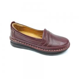 کفش طبی زنانه  چرم طبیعی دست دوز تبریز کد 099