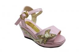 کفش مجلسی عروسکی دخترانه  مدل نگینی  کد 279