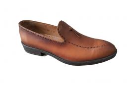 کفش کالج کلاسیک مردانه چرم گاوی تبریز کد 305