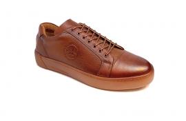 کفش کتونی مردانه تمام چرم طبیعی  تبریز کد 314