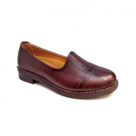 کفش زنانه چرم طبیعی دست دوز تبریز کد 324