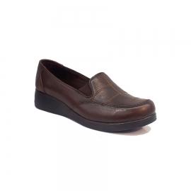 کفش طبی راحتی زنانه چرم طبیعی دست دوز تبریز کد 341
