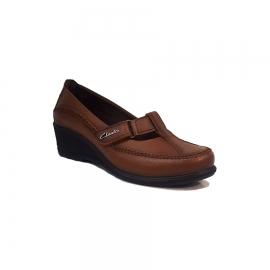 کفش طبی راحتی زنانه چرم طبیعی دست دوز تبریز کد 342