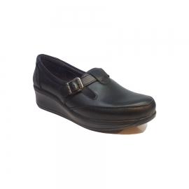 کفش طبی راحتی زنانه چرم طبیعی دست دوز تبریز کد 350