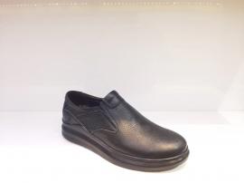 کفش راحتی مردانه چرم طبیعی گاوی تبریز کد 369