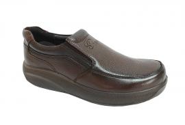 کفش طبی راحتی مردانه چرم طبیعی تبریز کد 376