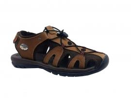 کفش تابستانی  طبی راحتی مردانه چرم طبیعی تبریز کد 385