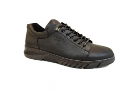 کفش کتونی مردانه چرم طبیعی  تبریز کد437